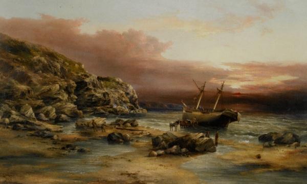 Henry Redmore ( 1820-1887)~după furtună