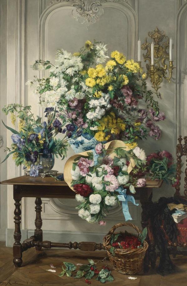 Jenny Villebesseyx, artist francez (1854-1924)