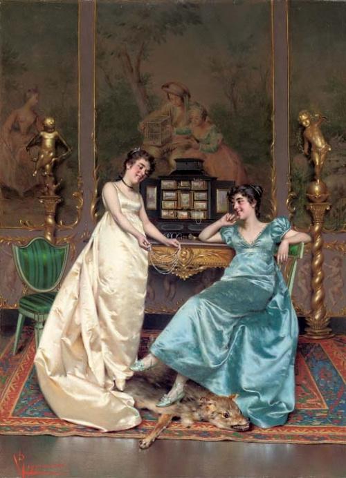 Vittorio Reggianini, pictor italian (1858-1938)