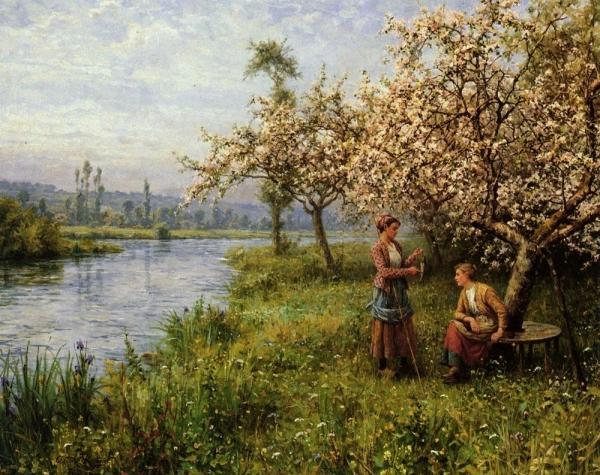 Louis Aston Knight, pictor american de origine francez (1873–1948)