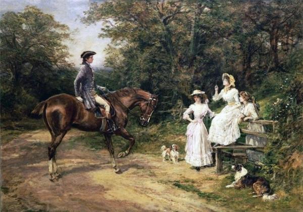 Heywood Hardy, pictor englez (1843-1933)