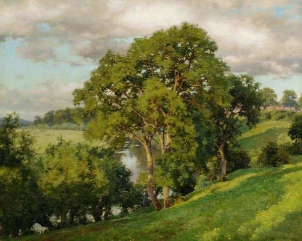 Alfred William Parsons, pictor englez (1847–1920)