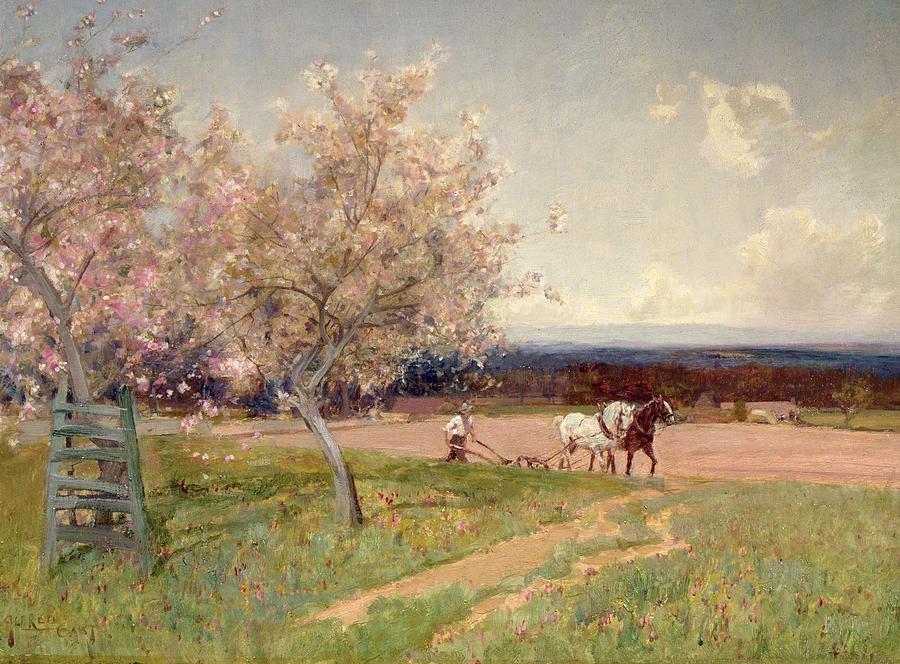 Sir Alfred East, pictor englez (1849-1913)