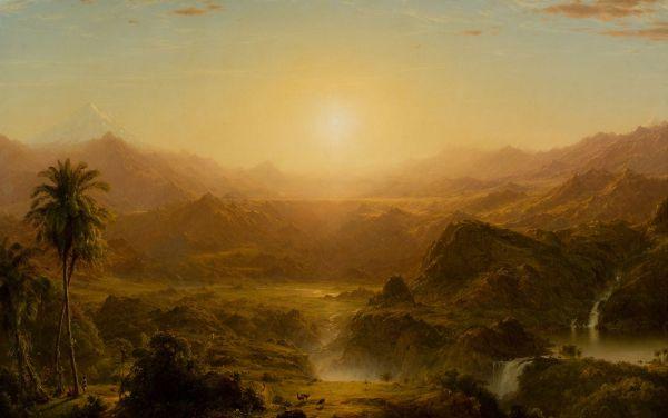Frederic Edwin Church, pictor american (1826-1900)