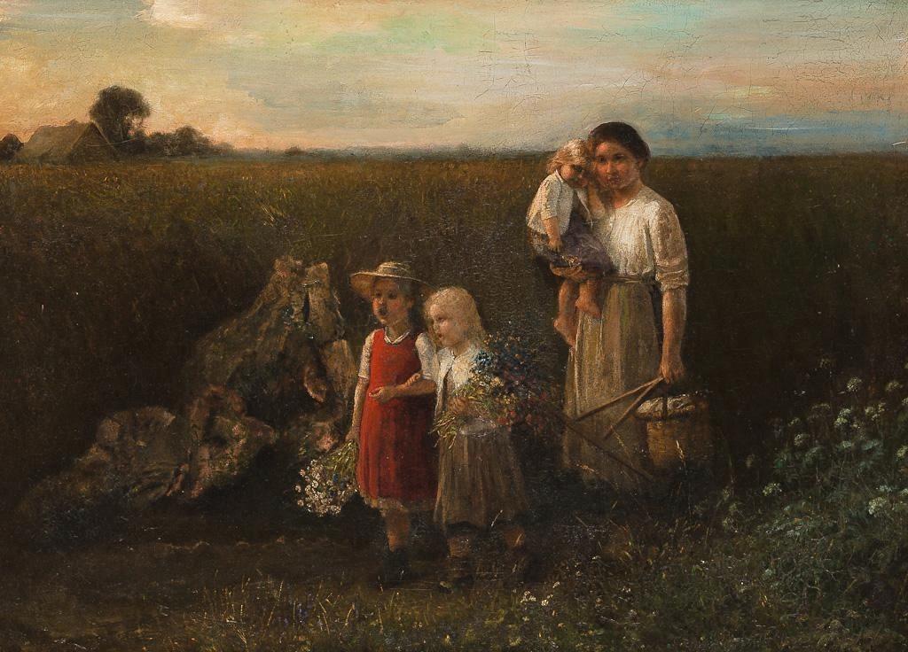 Carl von Bergen, pictor german