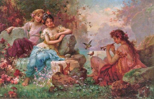 Hans Zacka, pictor austriac (1859 -1945)